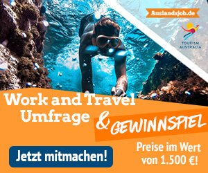 Work and Travel-Umfrage
